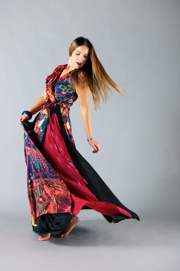 6d57e09a600 Desigual long dress | Vanilla and soap