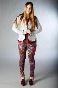 desigual pants and gazel jacket