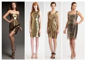 abiti oro da giorno