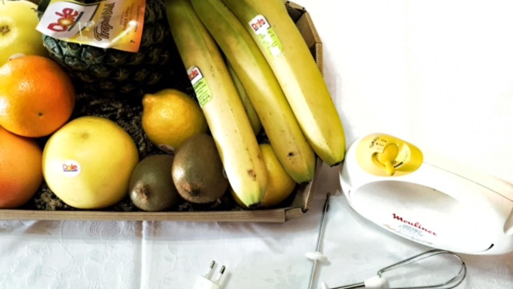 Muffin alla banana – Frutta Dole