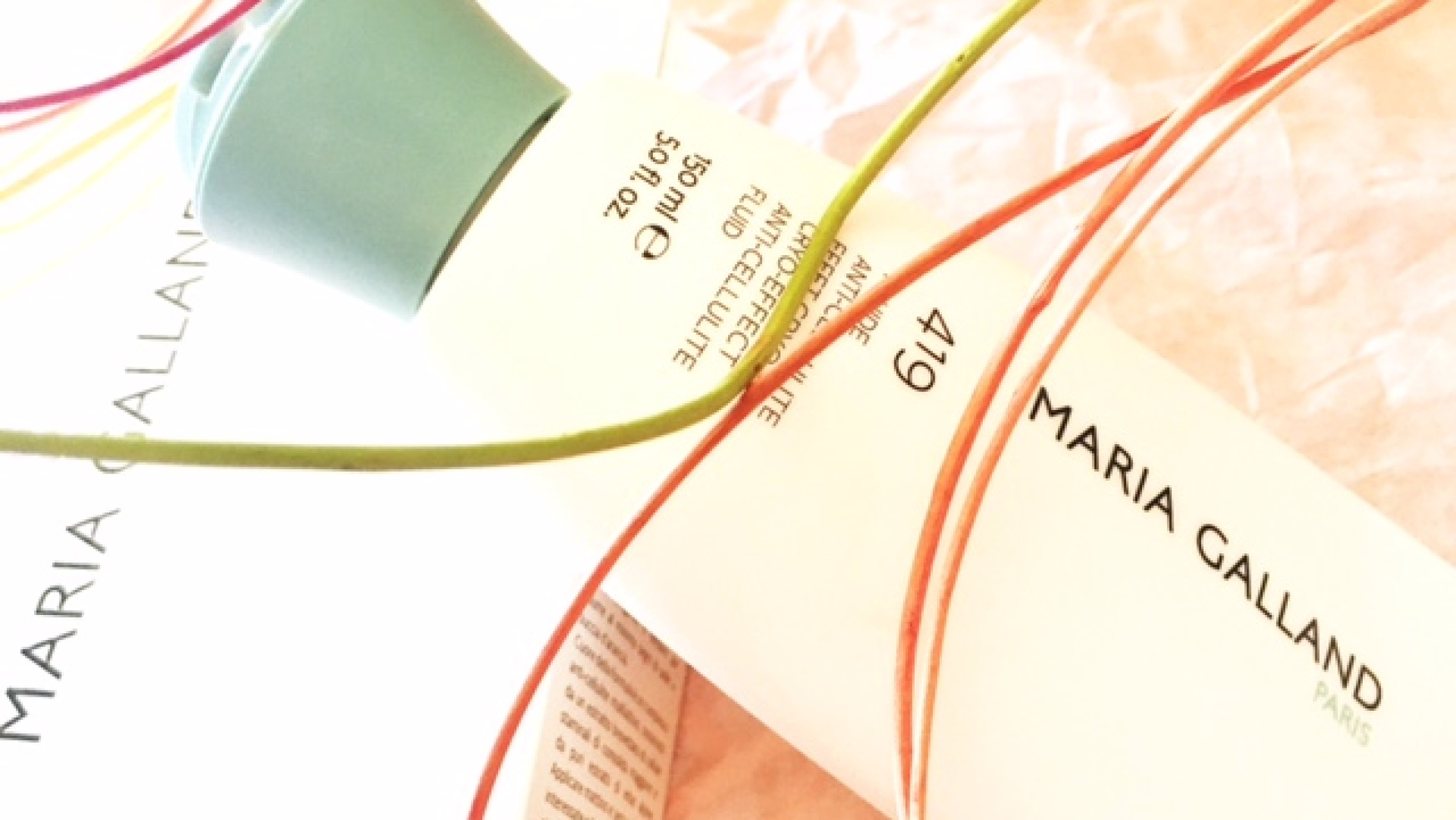 Fluido anti-cellulite Maria Galland Paris