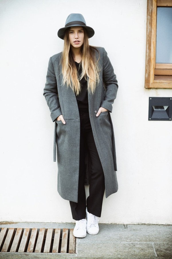 french connection oversize coat