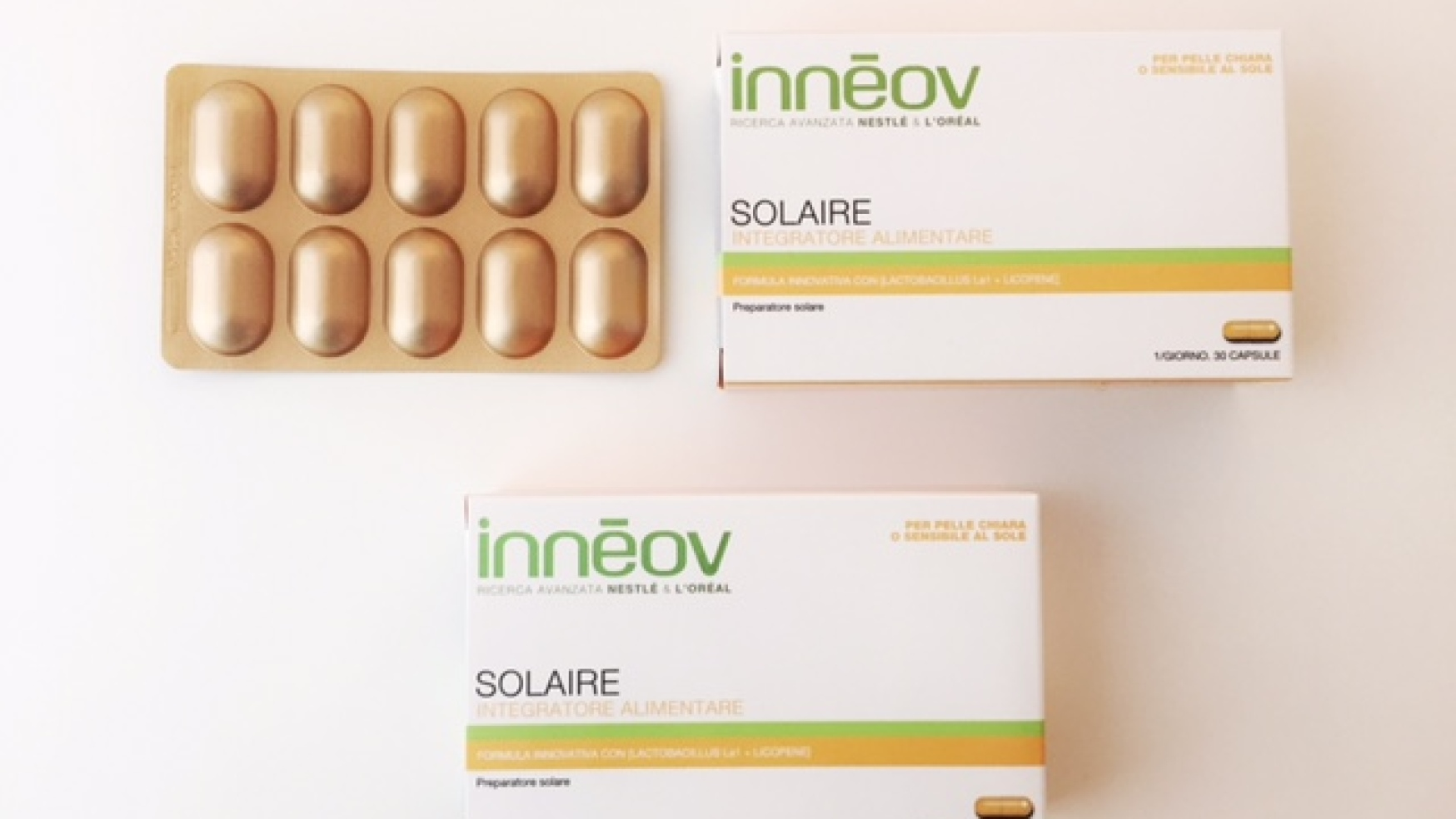 Inneov – preparatore solare