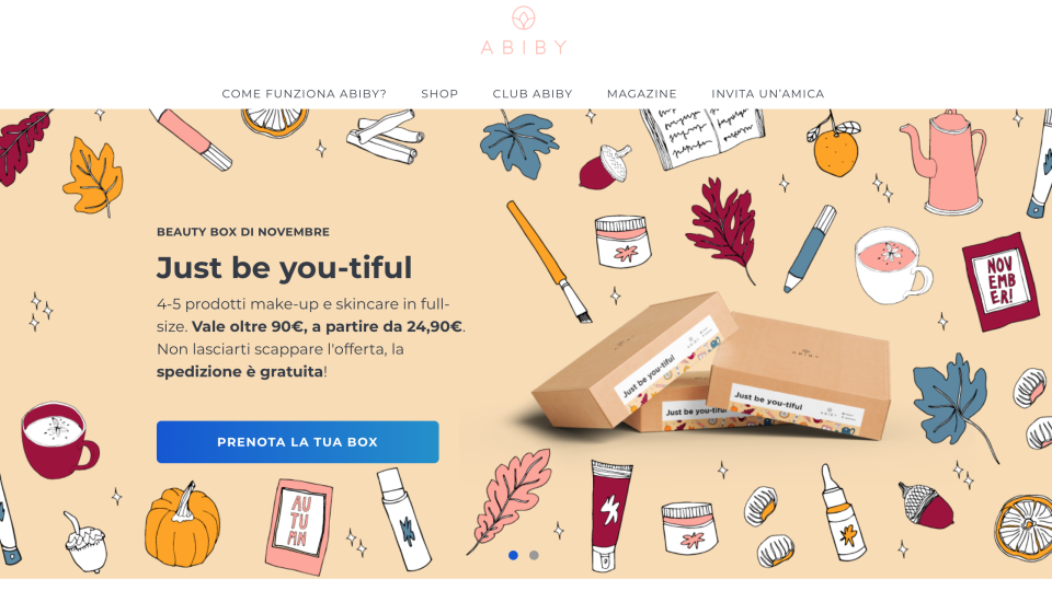 Abiby : una box ricca di bellezza